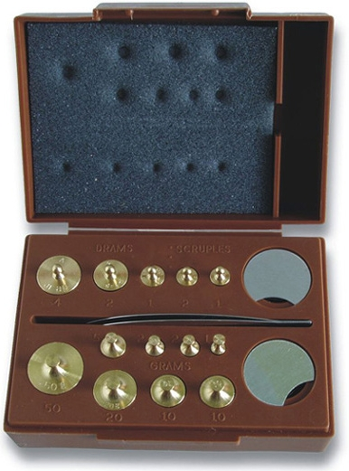 Combination Metric and Apothecary Weight Set  MODEL TC-106 - Pill